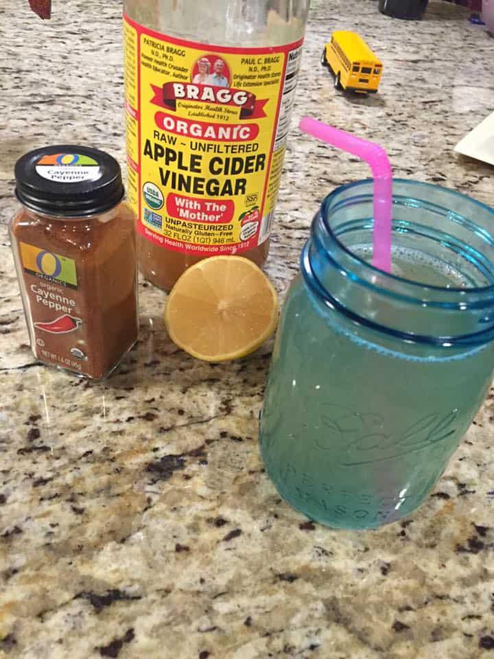 fat blasting, fat blasting drink, morning fat blasting drink, apple cider vinegar, cayenne pepper