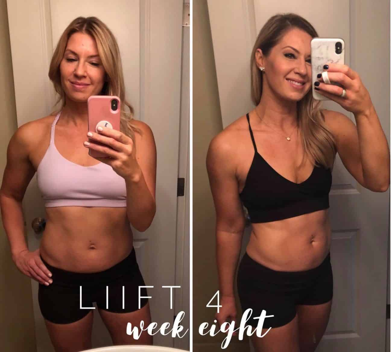Week 8 Liift 4 Review Tone And Weight Loss