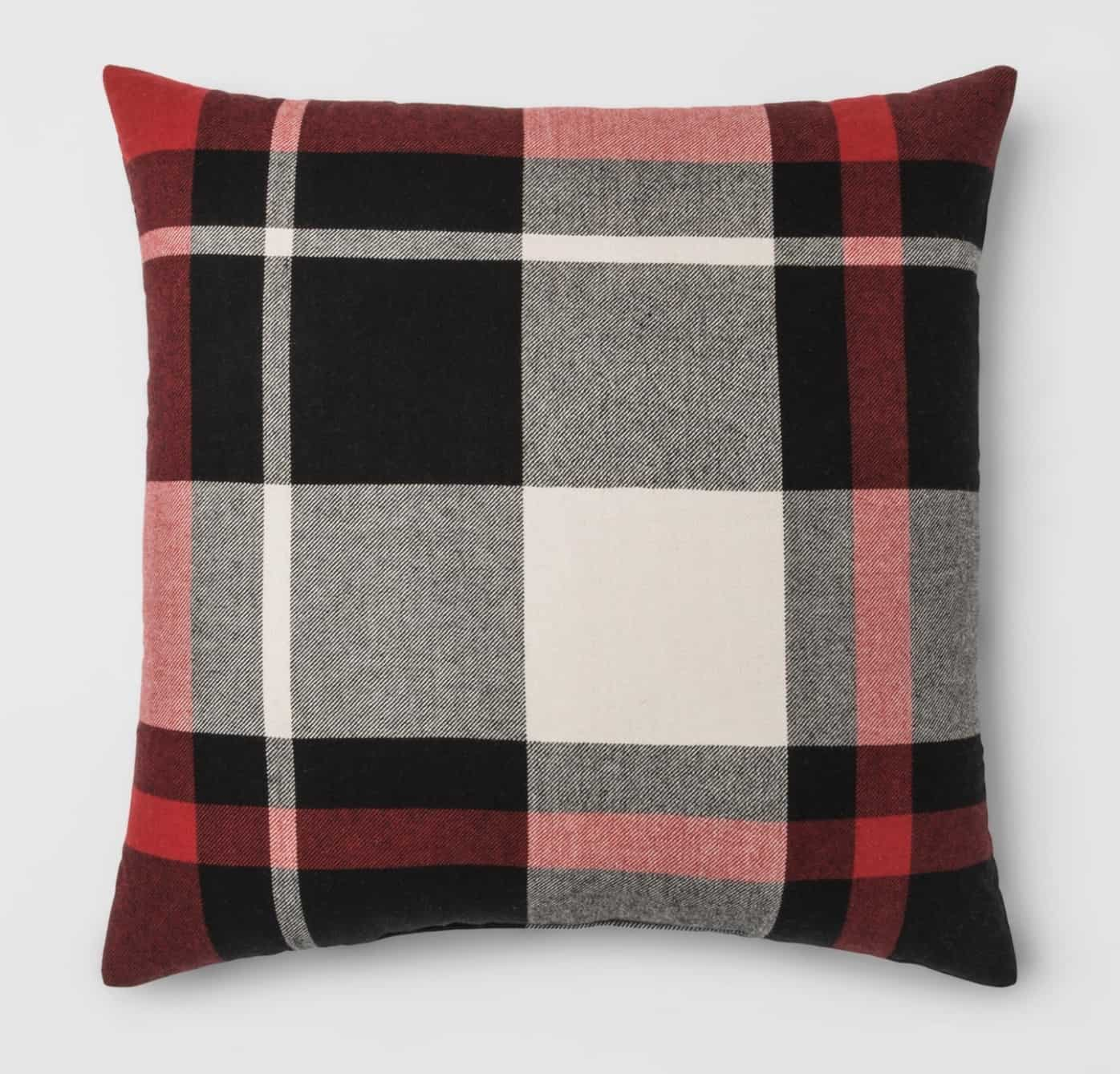 Affordable Holiday Decor, holiday pillow,